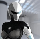 Scifi 3D Armoured Female Suit