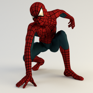 Free 3D Spiderman suit for Daz studio and Poser | inLite
