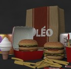 Oleo Burger Pack