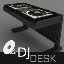 3D DJ Desk for Daz studio & Poser 3D
