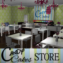 Candy Cakes store